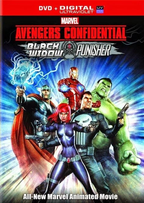Marvel's Avengers Confidential: Black Widow & Punisher – DVDRIP LATINO