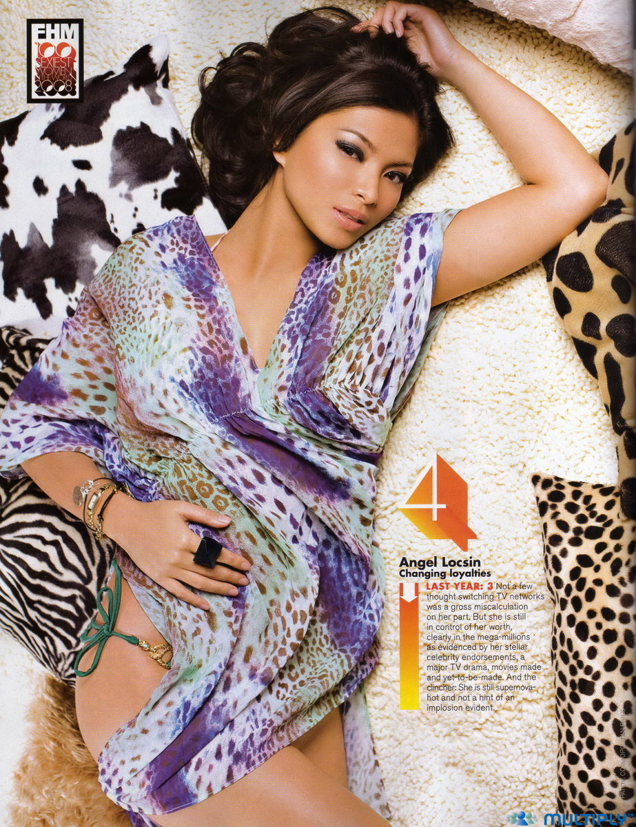 angel locsin sexy fhm pic
