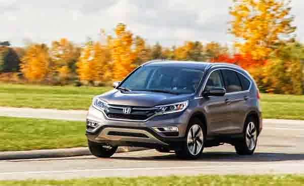 2015 Honda CR-V Touring AWD Configurations