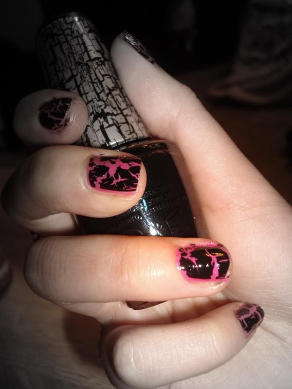 Crystals Nail Designs Katy Perry Crackle Nail Polish
