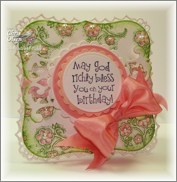 Our Daily Bread Designs, Be Joyful, Special Girl