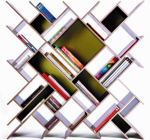 Cool Book Shelf Idea 500 x 465