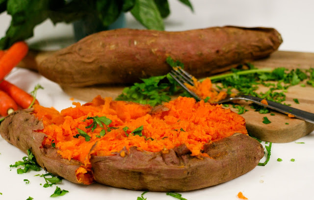 Roasted Mashed Sweet Potato