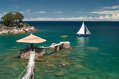 Lake Malawi, Afrika