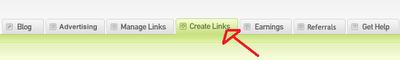 Create Link on Linkbucks
