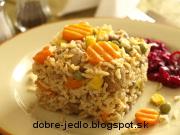 Mäsovo-zeleninové rizoto - recept