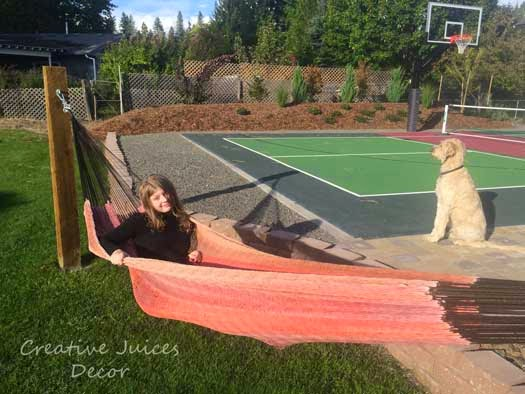Diy outdoor furniture on pinterest porch swings diy for Diy sport court