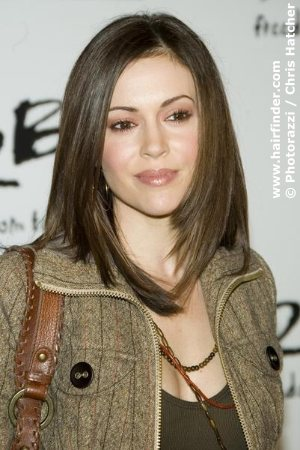Hollywood Celebrity Alyssa Milano