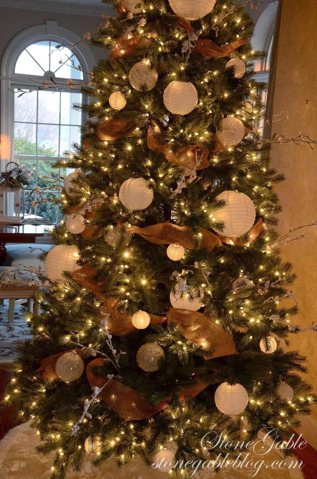 Christmas Tree Closeup Stonegableblog