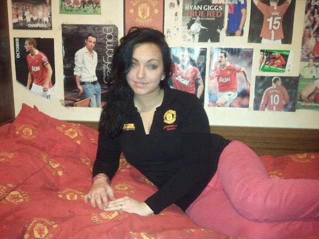 Vidic is her favorite player