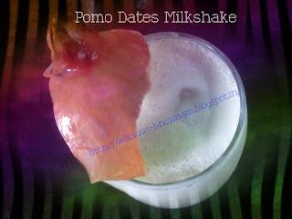 Pomo Dates MilkShake
