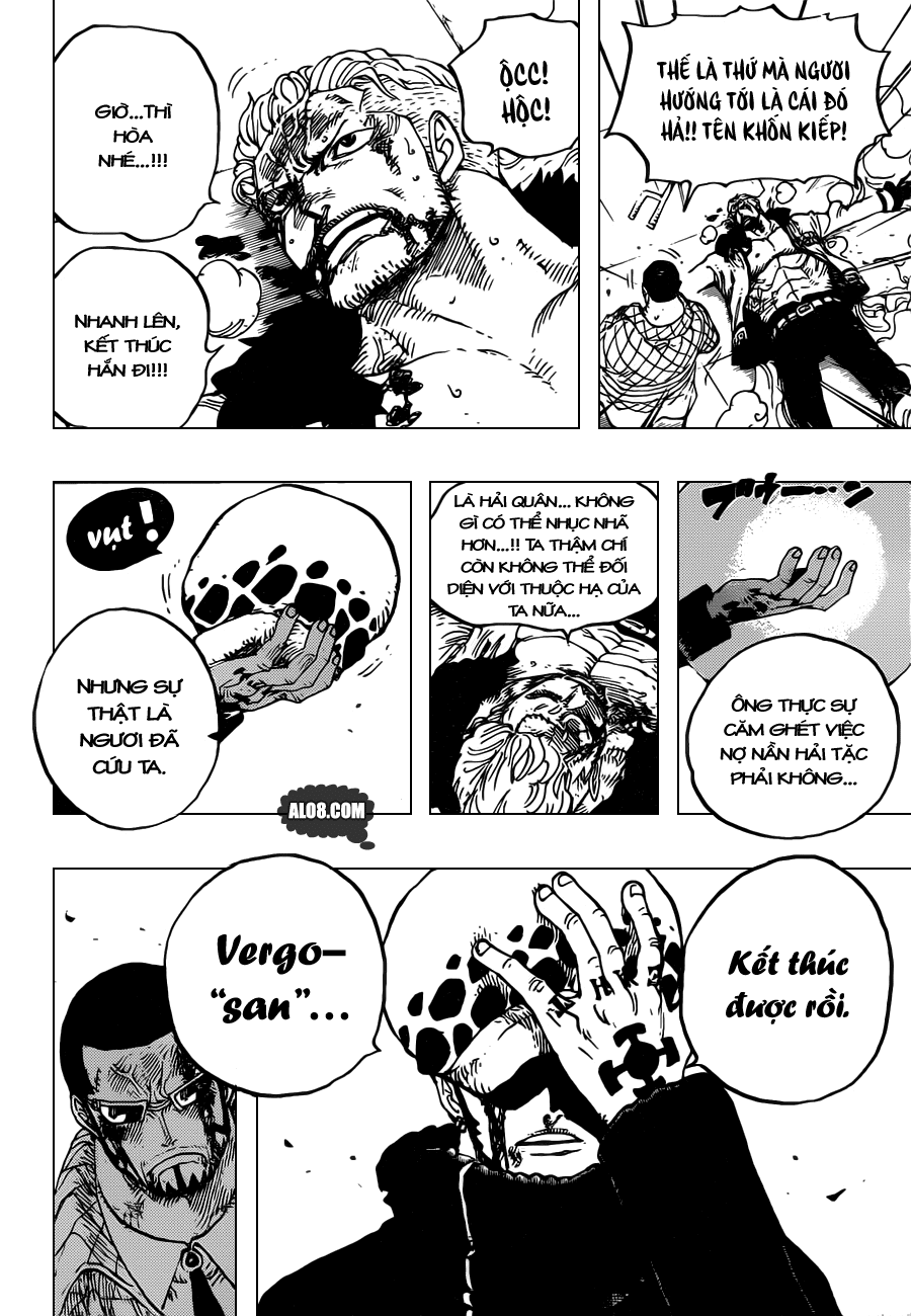One Piece Chapter 690: SAD 012