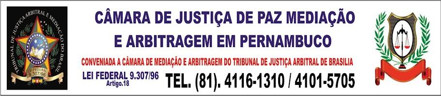 CJPMAP CAMARA DE JUSTIÇA DE PAZ MEDIAÇÃO E ARBITRAGEM EM PE