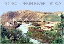Astaro railway bridge - Afrin River
