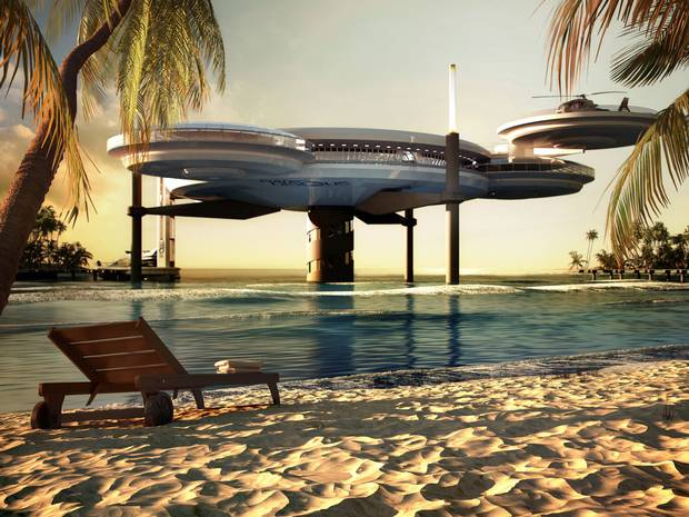 What happens around you world largest underwater hotel for World biggest hotel in dubai