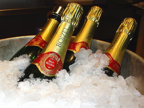 Que significa soñar con champagne