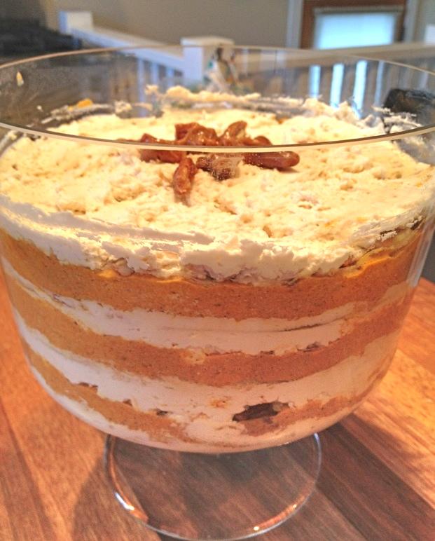 Pumpkin Praline Trifle Recipe — Dishmaps