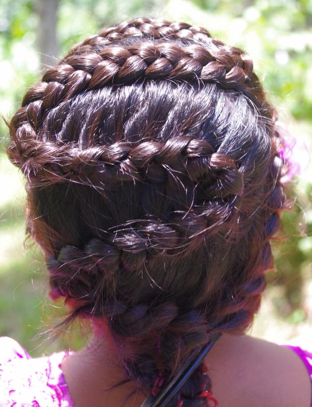 Braids hairstyles for super long hair micronesian girl french micronesian girl french rope and zig zag dutch braids ccuart Images