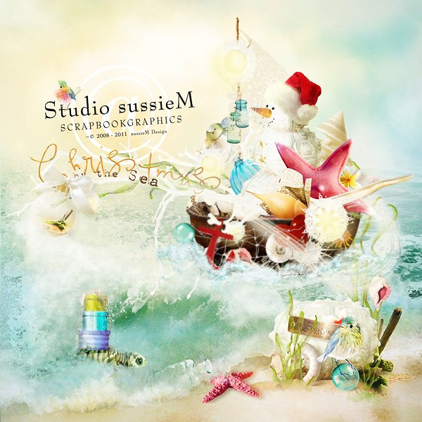 sussieM Designs: Celebrate with us Christmas by the Sea