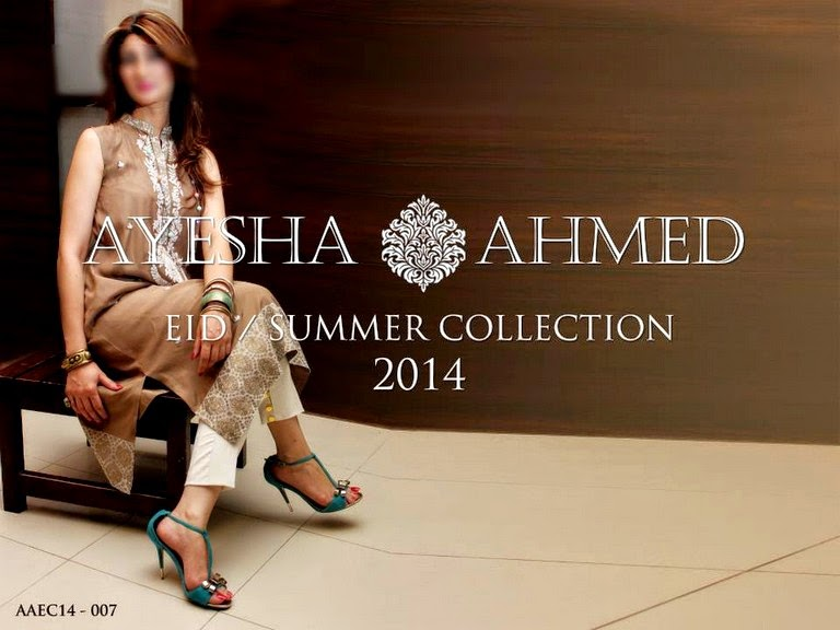 Ayesha Ahmed EID - Summer Collection 2014-2015