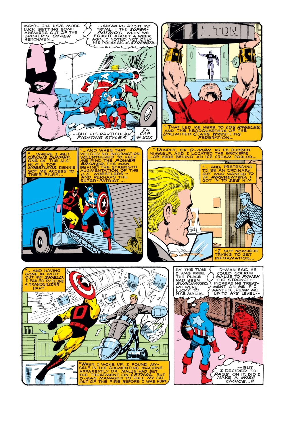 Captain America (1968) Issue #329 #258 - English 4