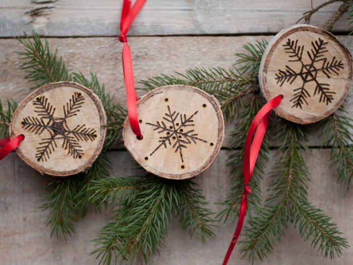 Manualidades y navidad adornos navide os sencillos for Adornos navidenos sencillos