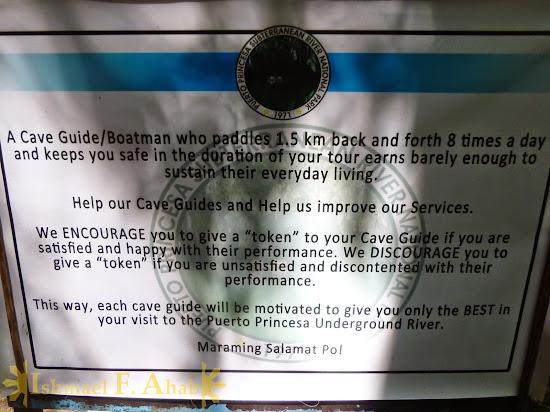Important reminder for Puerto Princesa Underground River visitors