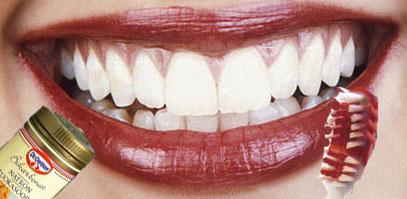 hur får jag vitare tänder