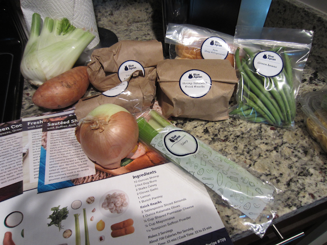Blue Apron Contents