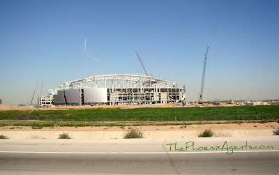 Arizona Cardinals Stadium under construction