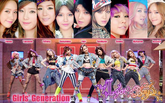 Lirik Lagu Girls' Generation (SNSD) - I Got A Boy