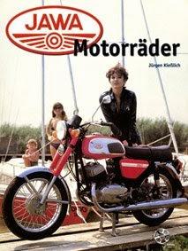 "Okładka książki ""Jawa Motorräder"""