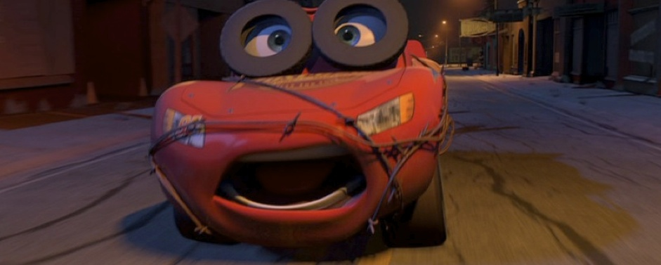 Dan The Pixar Fan Cars Spin Out Lightning Mcqueen