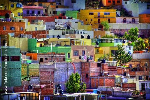 Casas de Zacatecas en México