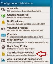 Cifrado de Datos: Seguridad y Privacidad Blackberry
