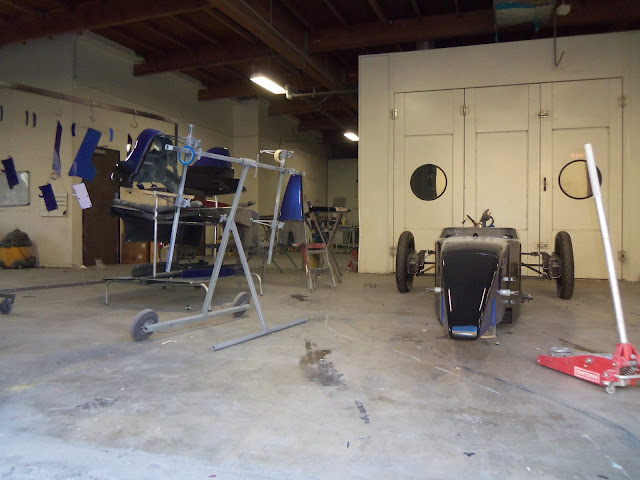 Lloyd Read Formula Mazda at Almost Everything Autobody for paint