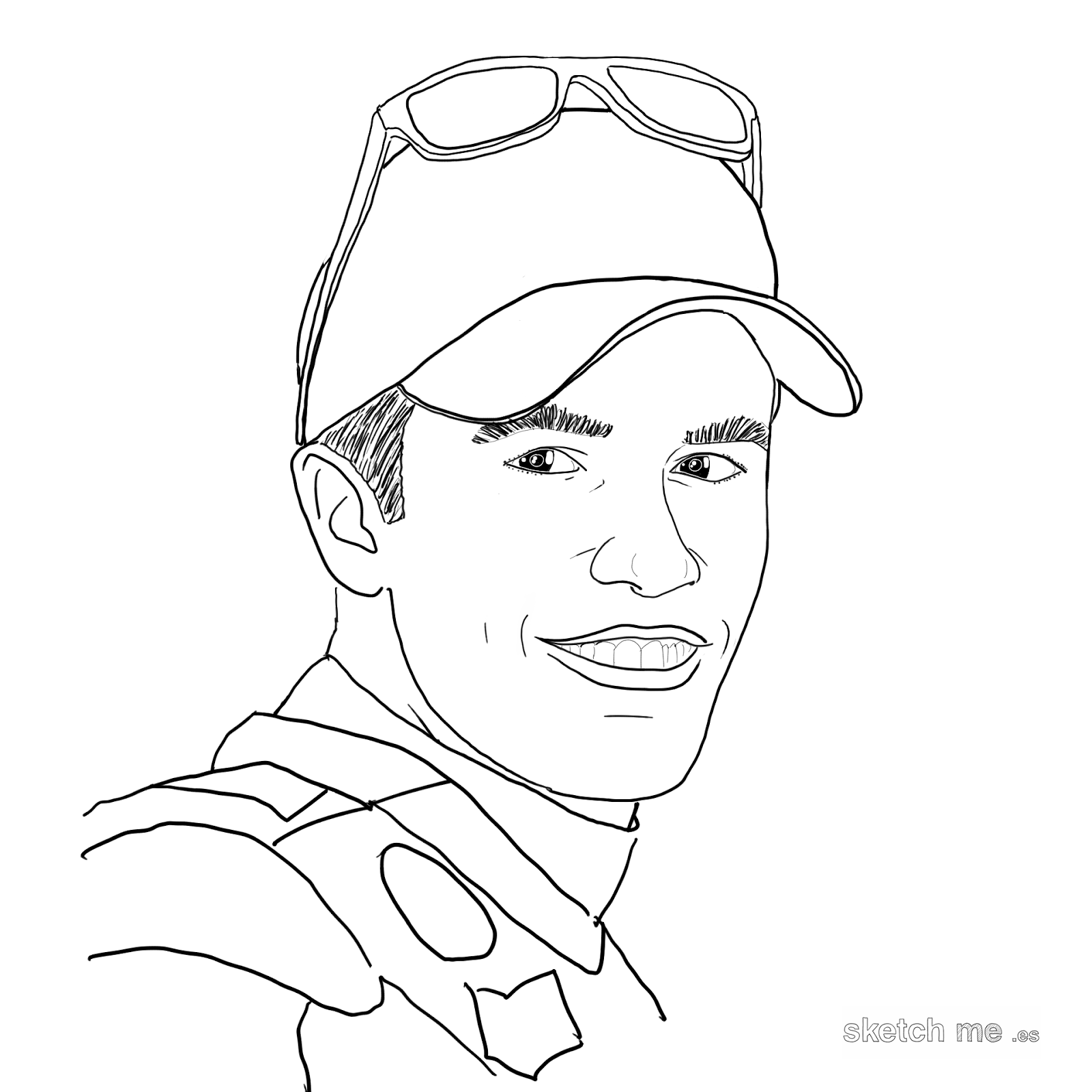 marc-marquez-sketch-me-custom-portraits-for-facebook-and-twitter-profiles-retratos-personalizados-dibujados-a-mano