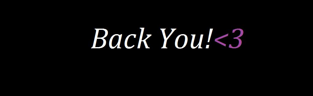 Back You
