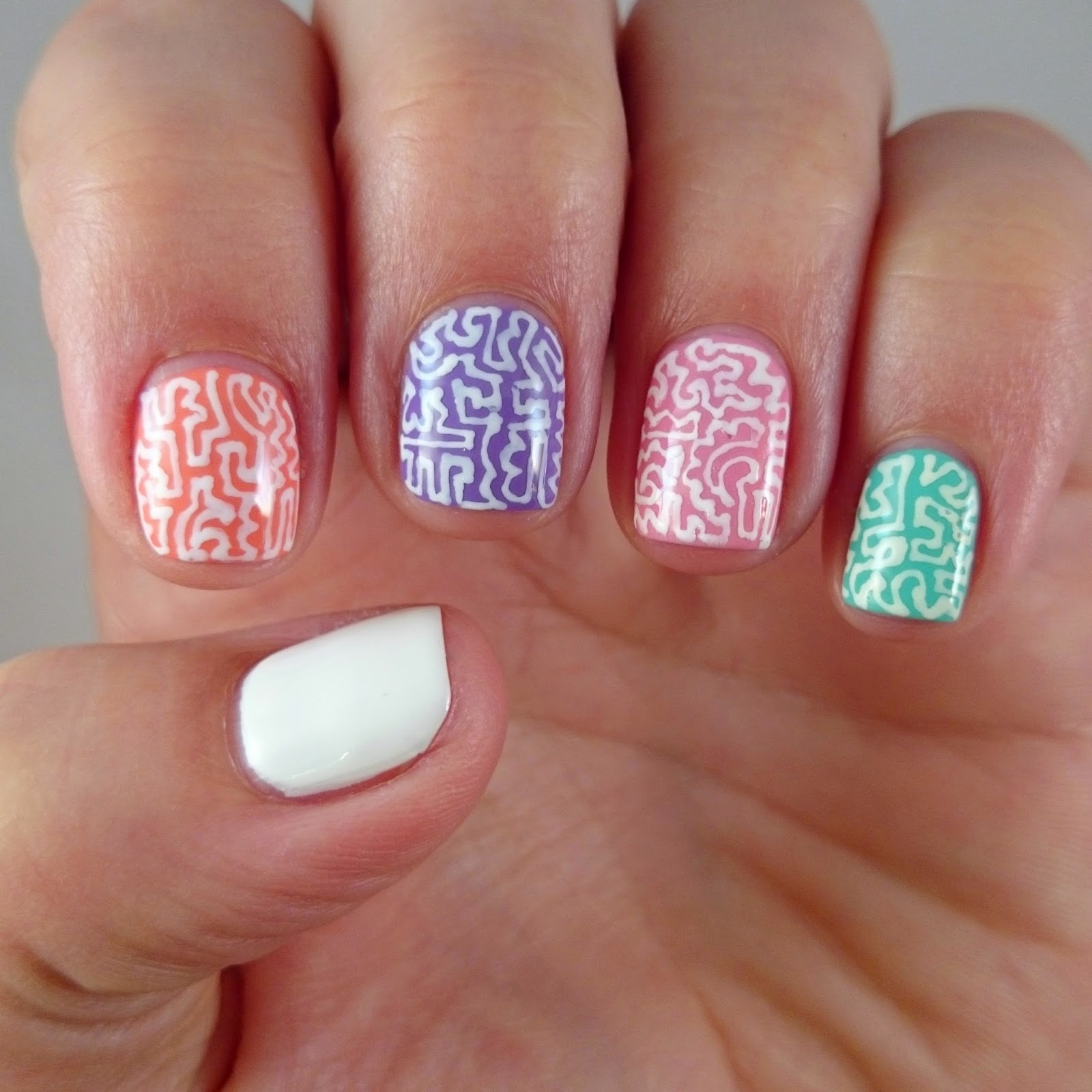 Dahlia Nails: Back to School Doodles