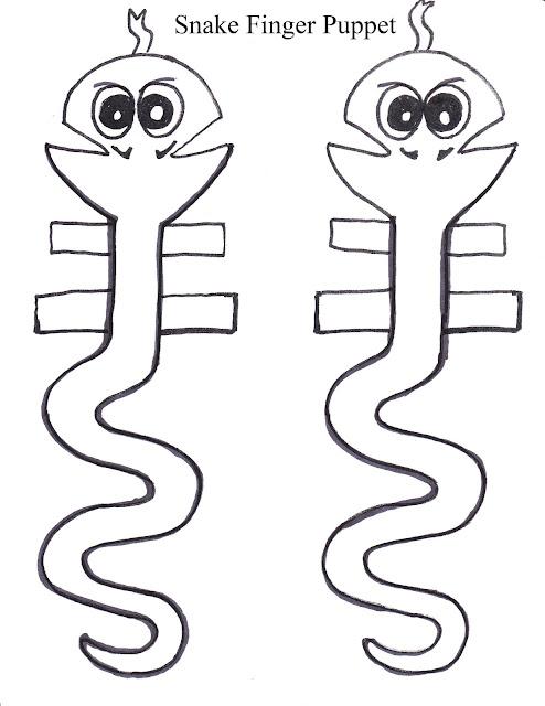 Snake Puppet Template Felt Cut Out Snake Other Craft Ideas Pinterest ...