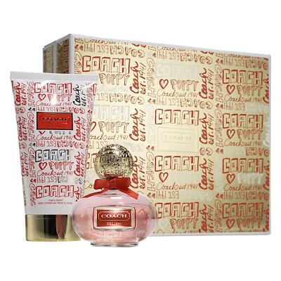 photo of Coach poppy EDP fragrance gift set at John Lewis