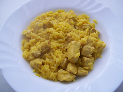 receta arroz con pollo al curry