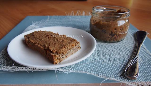Pasta do chleba z soczewicy i słonecznika