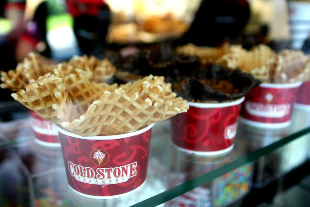 Cold Stone Creamery waffle cones
