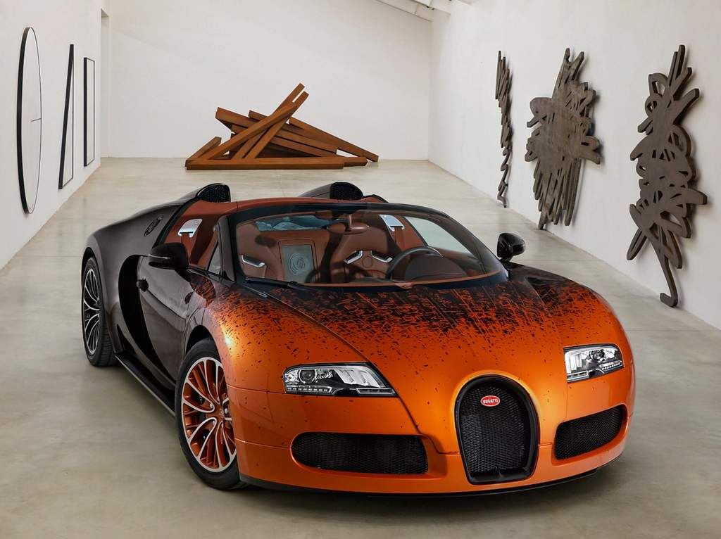 bugatti veyron bernar venet arte em homenagem matem tica e engenharia car blog br. Black Bedroom Furniture Sets. Home Design Ideas