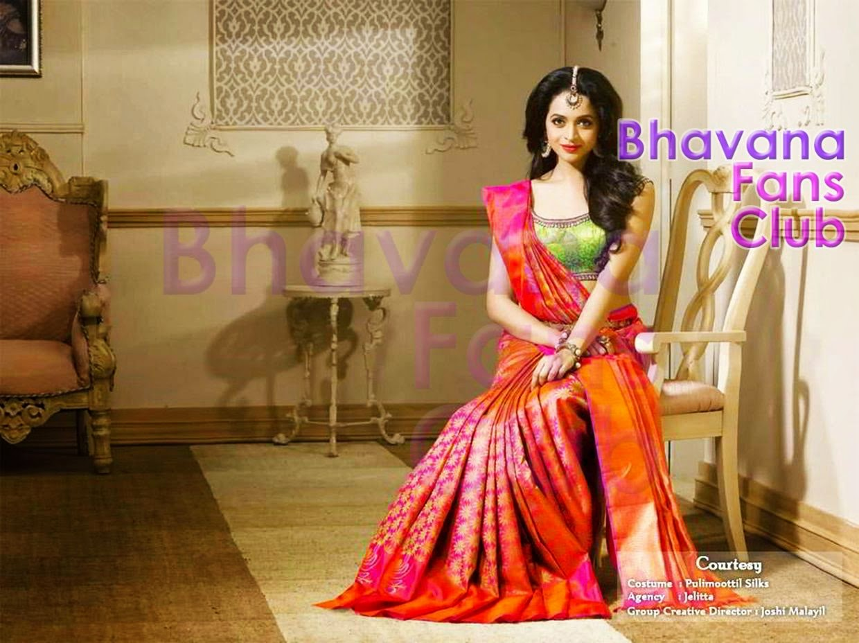 New pulimoottil silks advertisement actress bhavana fans club print email thecheapjerseys Gallery