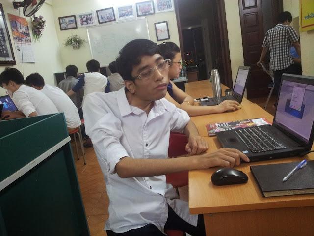 Học viên khóa học thiết kế đồ họa tại Việt Tâm Đức