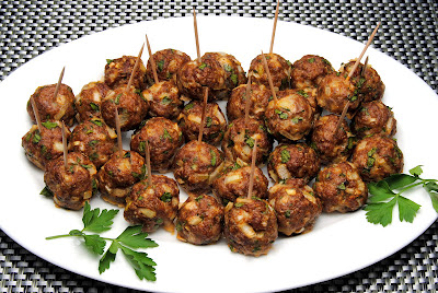 Kjøttboller tapas trines matblogg