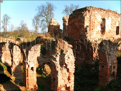 Гольшаны. Руины замка Сапег
