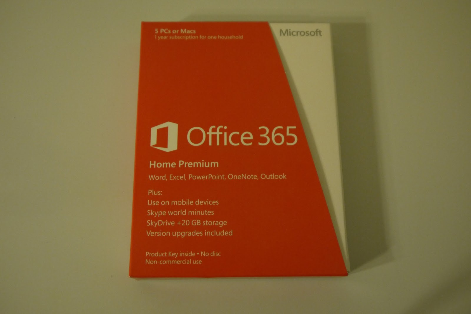 Soul of a Geek: What I Use: Microsoft Office 365 Home Premium
